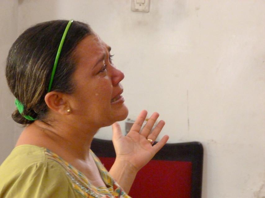 La Iglesia llora con Venezuela