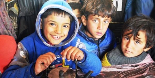La guerra en Siria bajo la mirada de un niño